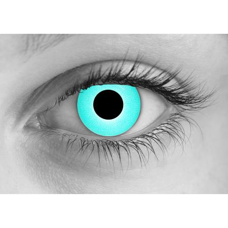 Rave Blue Halloween Contact Lenses - Halloween Lenses