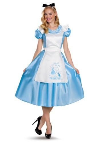 Classic Alice Deluxe Adult Costume