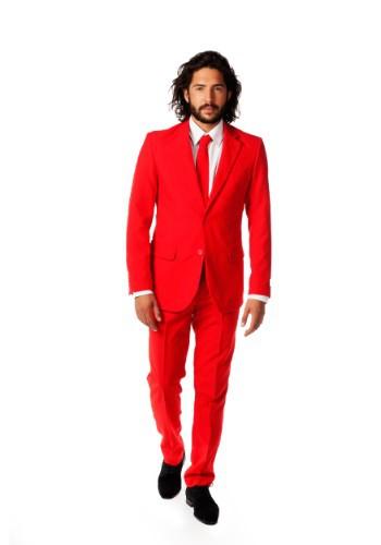 Men's Opposuits Red Suit