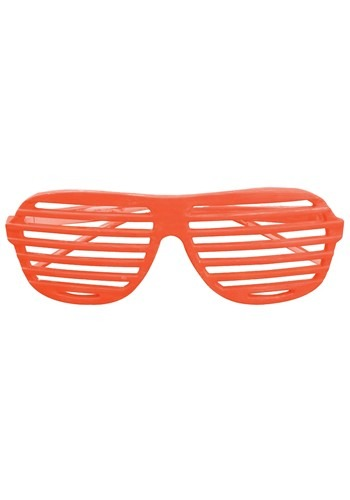 Orange 80's Shudder Shades