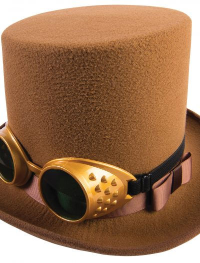 Steampunk Hat With Googles
